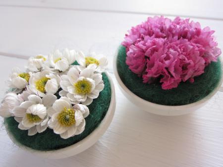 お花の飾り2