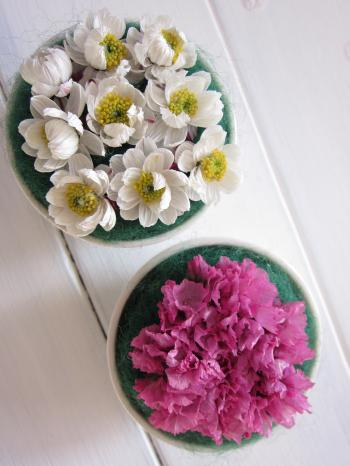 お花の飾り1