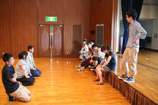 東大阪の演劇練習