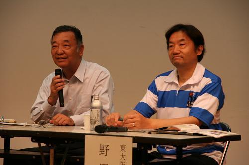 嶋田会頭と野田市長