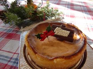 クリスマスチーズケーキ(ブログよう)