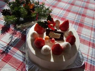 クリスマスデコレーションケーキ(ブログ用)