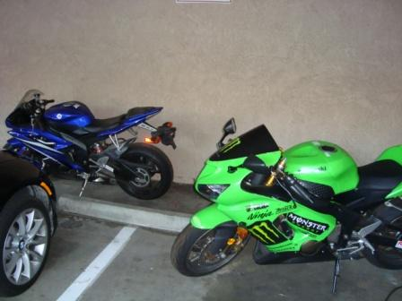 R6 and ZX6