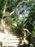舘山寺遊歩道。