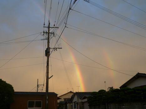 虹はっけ~ん!