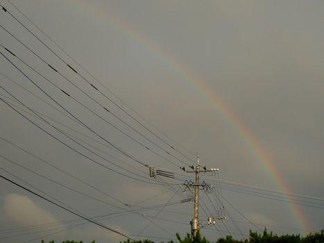 きのうの虹 じゃんじゃんと...