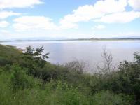 こちらはダム湖