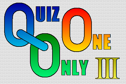 QUIZ ONLY ONE Ⅲ