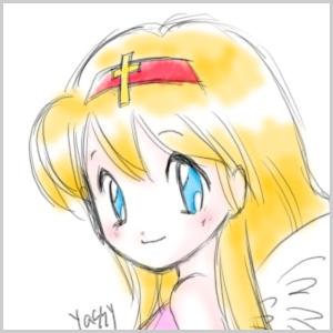 080809 ビックリマン 十字架天使