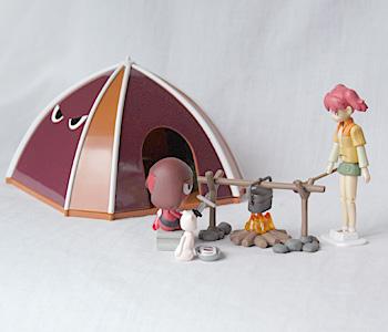 ギロロ野営テント