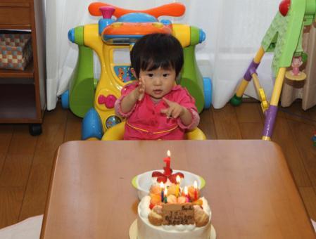 1歳誕生日2