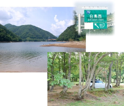 2008・08・10九頭竜湖1