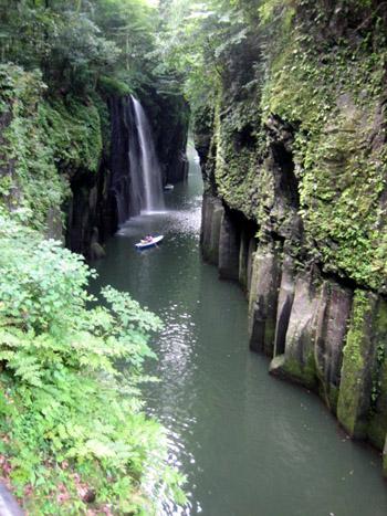 高千穂峡(真名井の滝)
