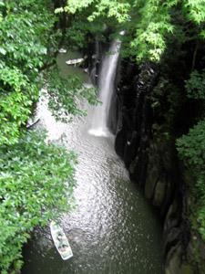 真名井の滝逆方向