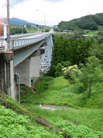青雲橋全景逆から