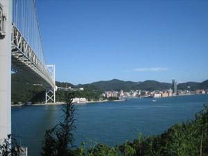 関門橋と門司