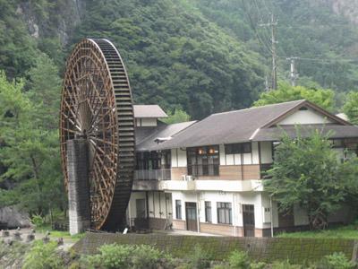 日本一の水車1