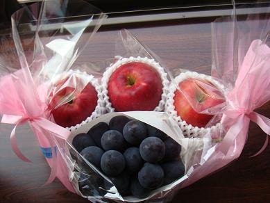 ぶどう りんご お見舞い