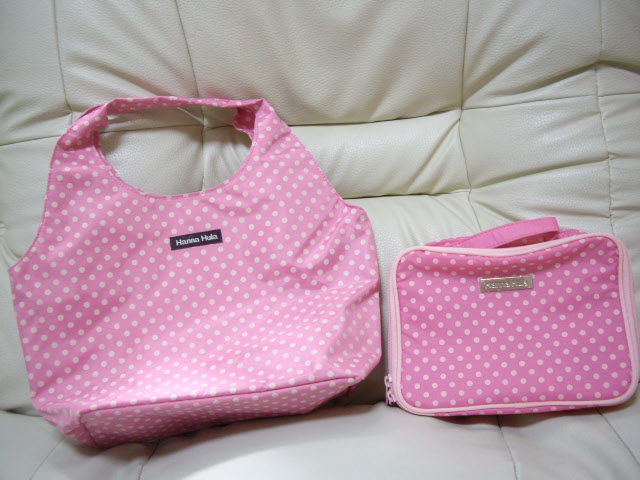 Hanna Hulaのバッグ(ピンク)