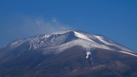 浅間山山頂090429