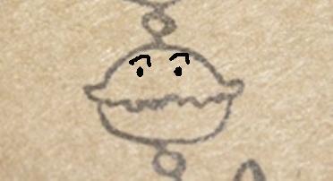 デコスイストラップ(捺跡・カレーパンマン)
