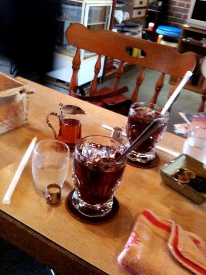 アカダマにてコーヒー