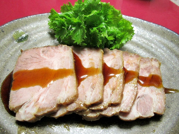ローストポーク焼き豚風