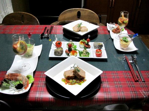 クリスマス晩ご飯