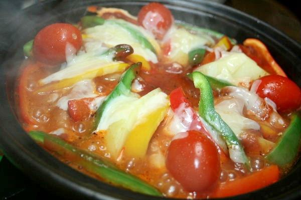 トマト蒸し鍋