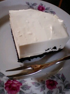 レアチーズケーキカットバージョン