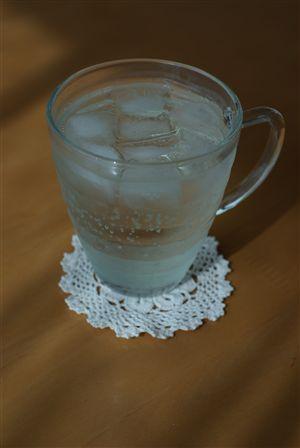 梅シロップジュース