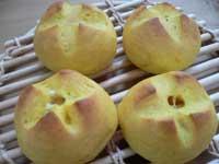 パンプキンチーズパン