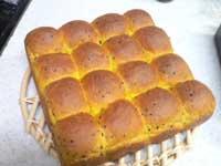 またまたかぼちゃちぎりパン
