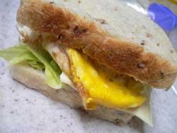 ライ麦角食サンド