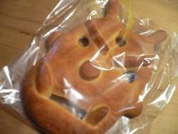 鬼面パン!