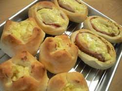 ハムロール&チーズパン