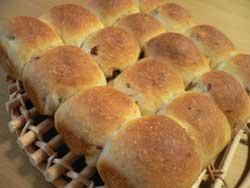 レーズン&くるみのちぎりパン
