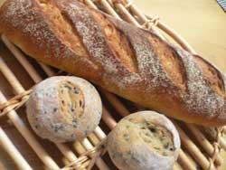 フランスパン&玄米パン