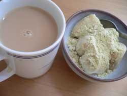 安倍川バナナ&たんぽぽコーヒー