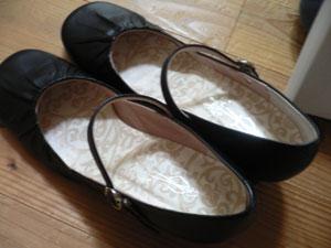 通勤用の靴