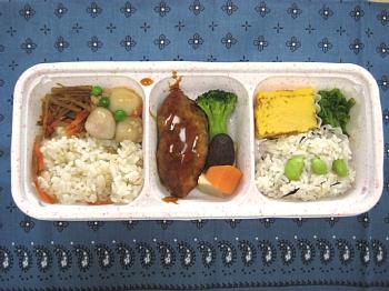 鶏つくねと野菜の炊き合わせv