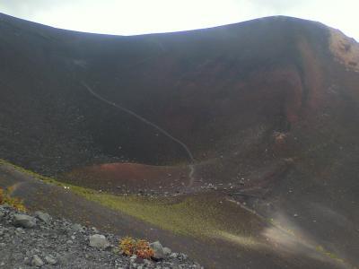 【宝永山】富士山もう一つの噴火口