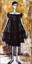 「アナベル夫人」1959年ベルナール・ビュフェ