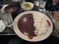 東京最後の食事はカレーだ