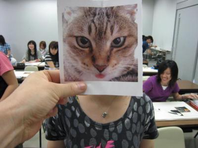 ネコ娘です