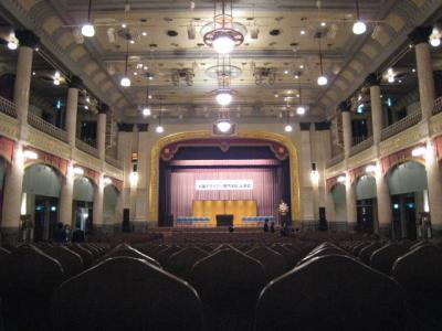 2009中央公会堂入学式直前