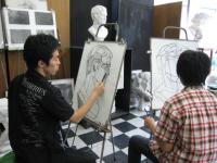 アニメーションクラスのデッサン6.5-1