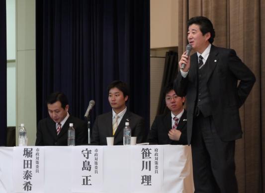 松井幹事長