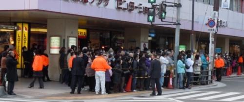 上新庄駅前街頭演説bl