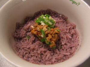 納豆とおくらの冷麦